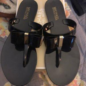 Michael kors thong sandals